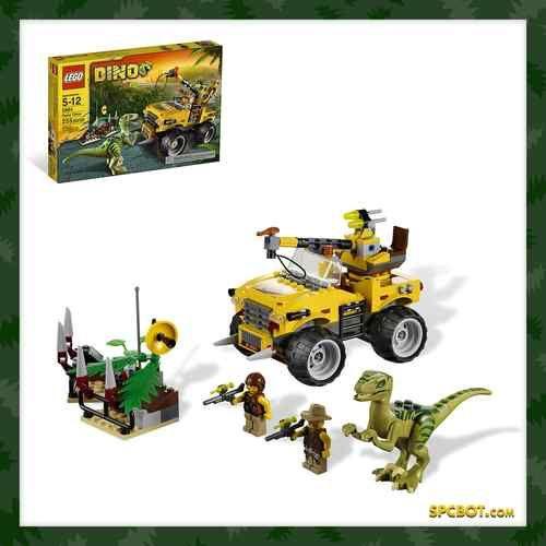 LEGO DINO Raptor Chase set 5884 - NEW IN BOX - Discontinued - SHIPS FREE! #lego #dino #jurassicPark #legoDino #legoEbay