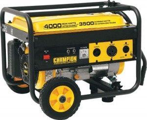 Champion 3500 Watt Generator Weekender Package $70.00 Off!