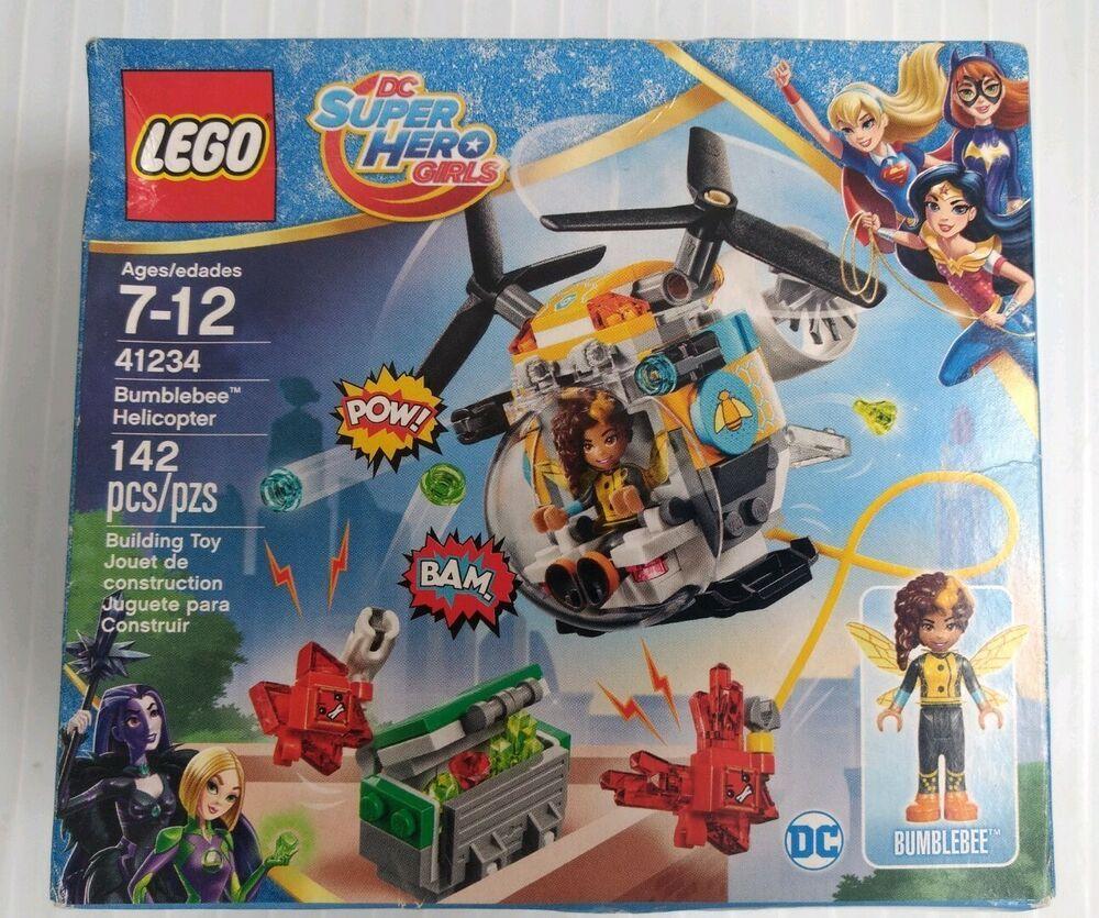 LEGO 41234 SUPER HERO GIRLS HÉLICOPTÈRE DE BUMBLEBEE