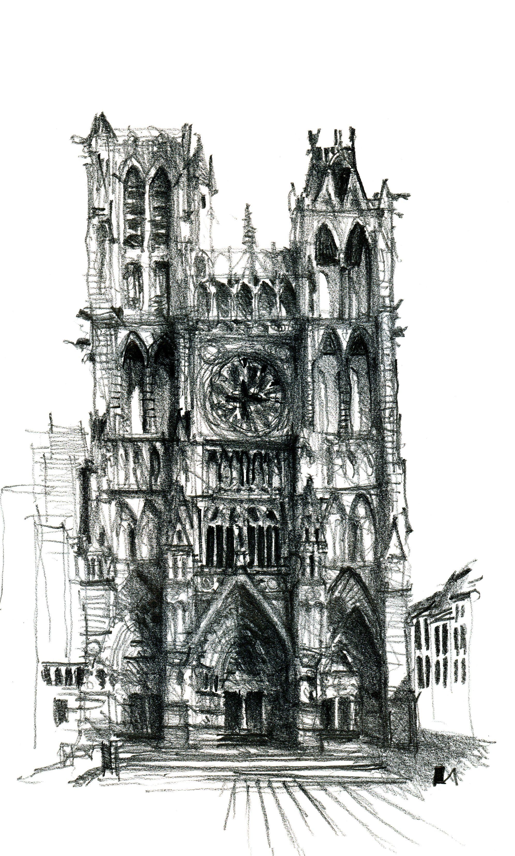 открытка в готическом стиле рисунки декор изображением фарфоровых