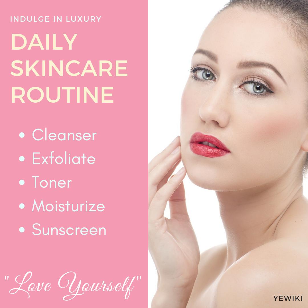 Good Skin Care Routine For Sensitive Skin Beauty Yewiki Skin Care Routine 40s Daily Skin Care Daily Skin Care Routine
