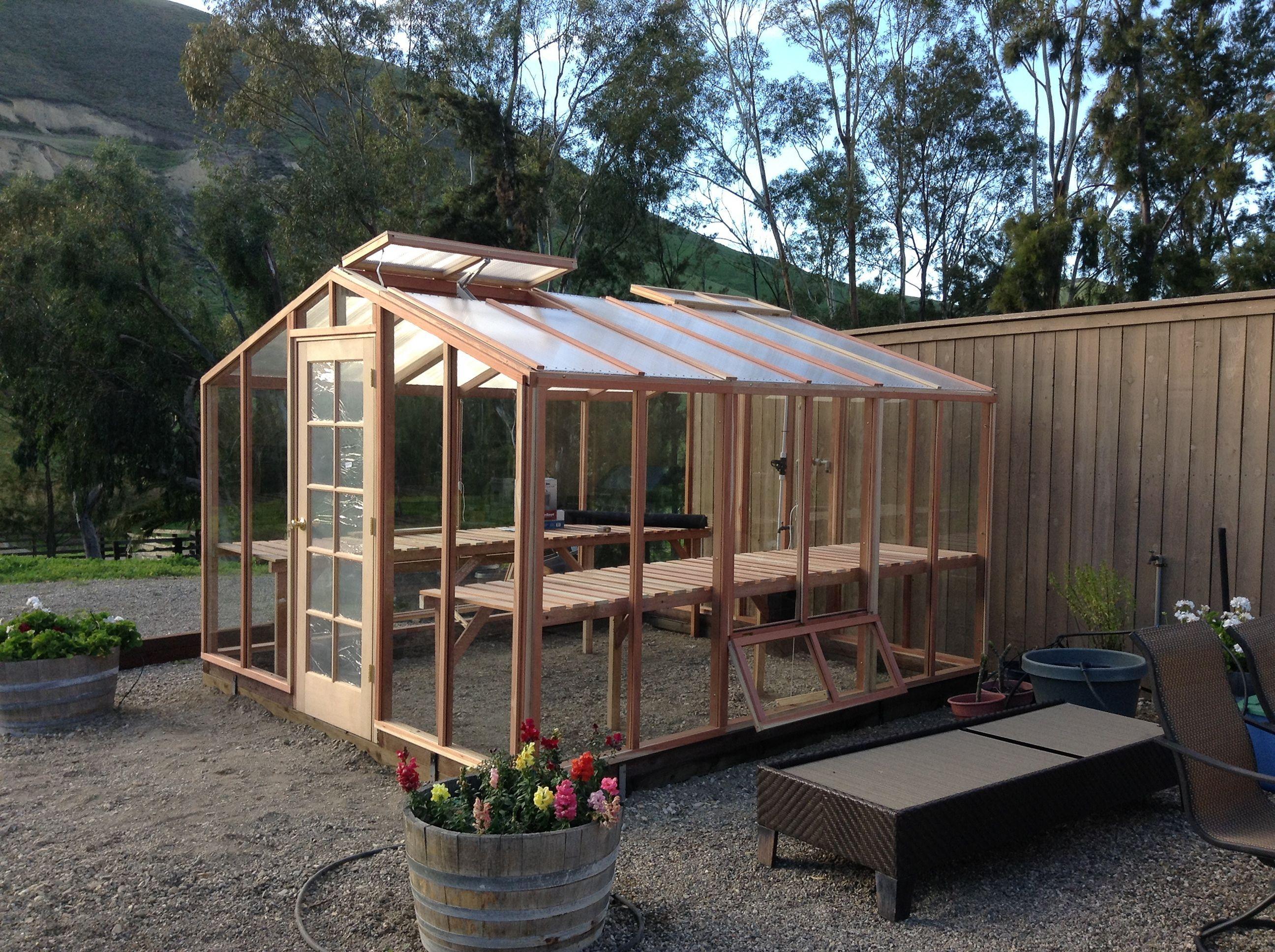 Best Wooden Greenhouse Design Ideas For Home Backyard