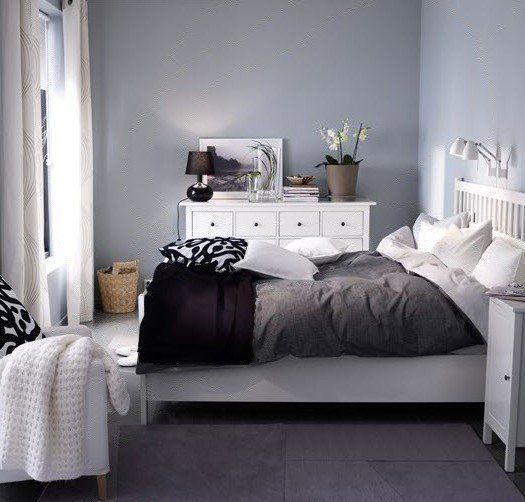 Popular Before & After s 1 Bedroom 5 Different IKEA Makeovers Inspirational - Cool Blue and Grey Bedroom Fresh