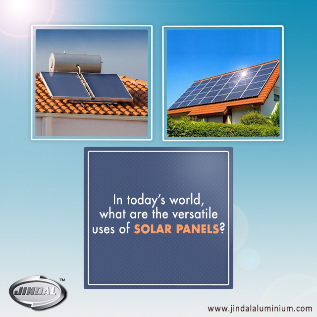 Aluminium Is The Best Used Material For Roof Top Solar Panels And Solar Water Heaters Apart From Roof Top Panels And Sola Solar Panels Solar Used Solar Panels