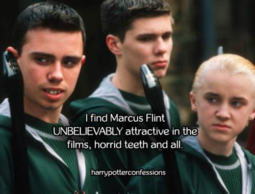I Find Marcus Flint Unbelievably Attractive In The Films Horrid Harry Potter Artwork Harry Potter Characters Harr Potter