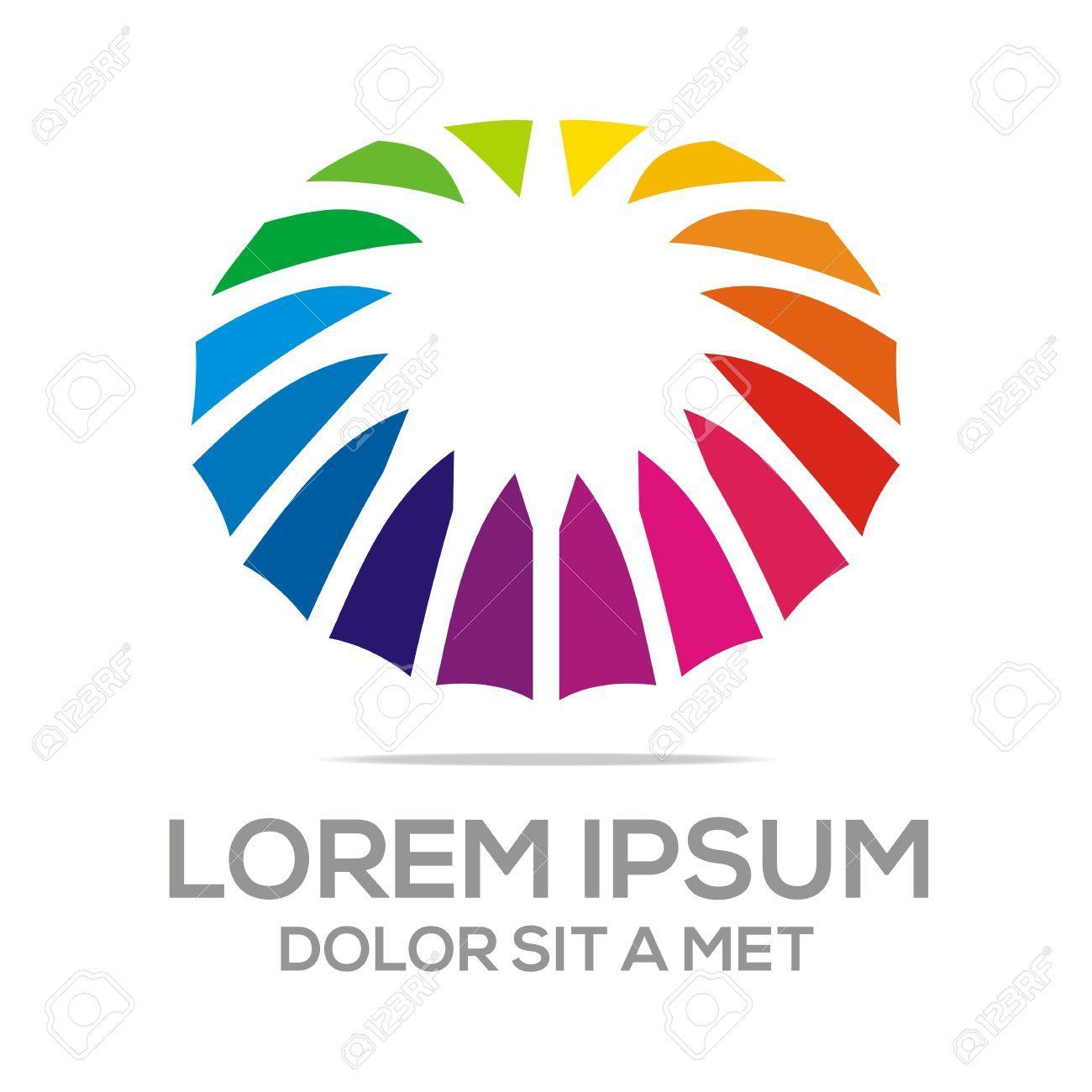6fd676428762b Logo Umbrella Abstract Star Logo Rainbow Colorful Royalty Free .