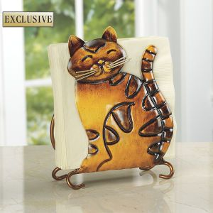 Cat Napkin Holder - General Store, Casual Clothing, Sweatshirts, Tops, Home Goods & Décor