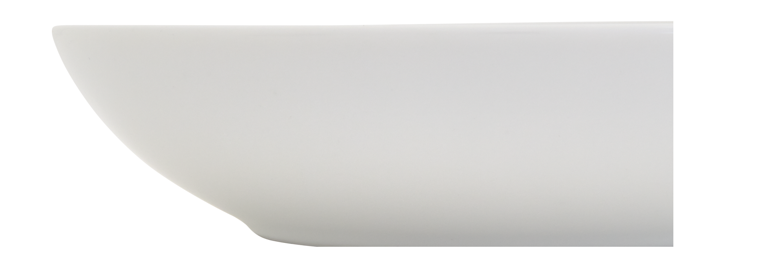 Bistro Tiefer Teller 28 Cm Aus Weissem Porzellan Set Aus 4 Porzellan Schlicht Und Geschirr