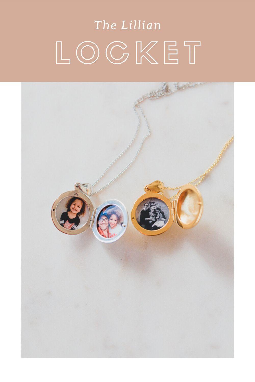 The Locket Sisters Locket Gold Locket Custom Lockets