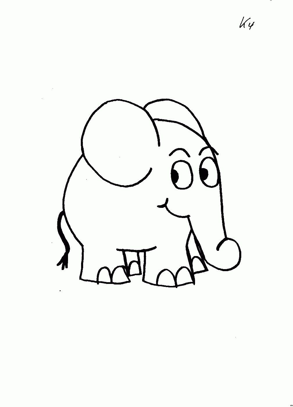 Sendung Mit Der Maus Malvorlage Druckbar  Ausmalbilder, Elefant