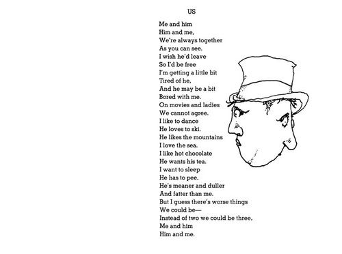 Shel Silverstein Quotes About Education: Us By Shel Silverstein