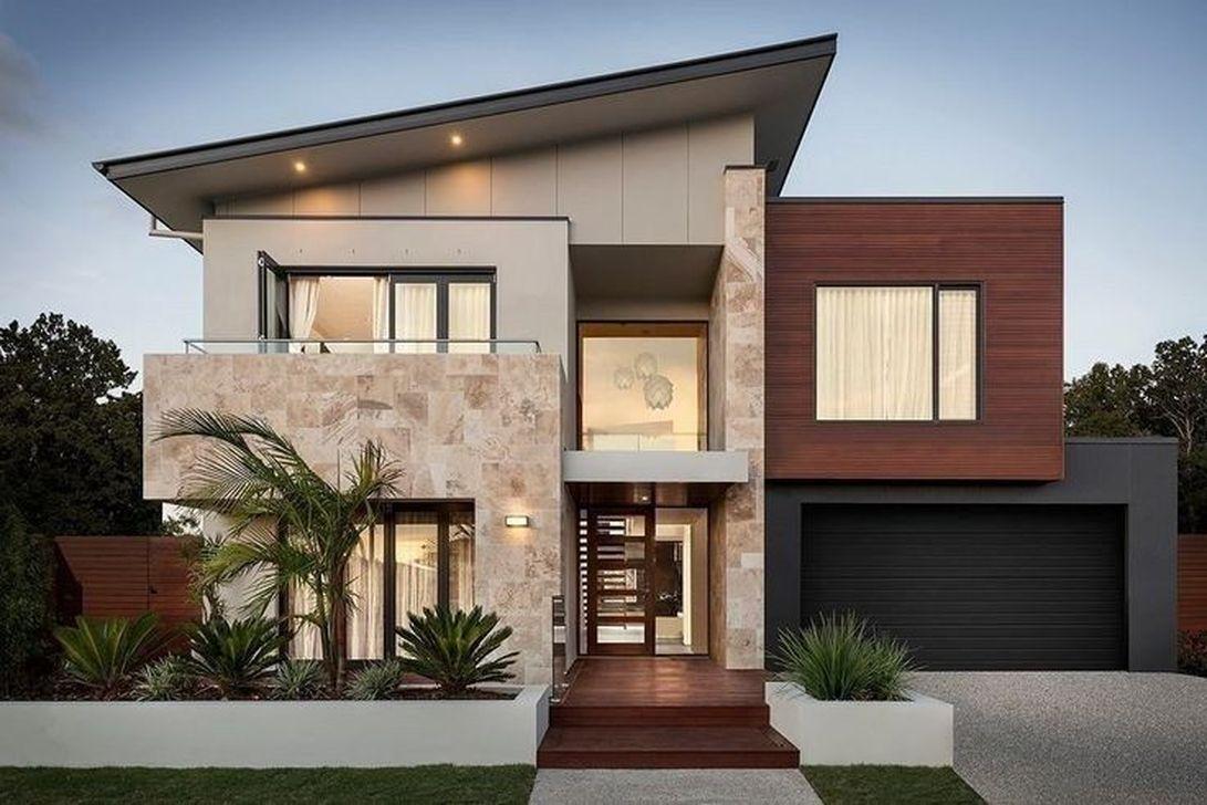 37 Stunning Contemporary House Exterior Design Ideas You Should Copy In 2020 Contemporary House Exterior Facade House House Exterior