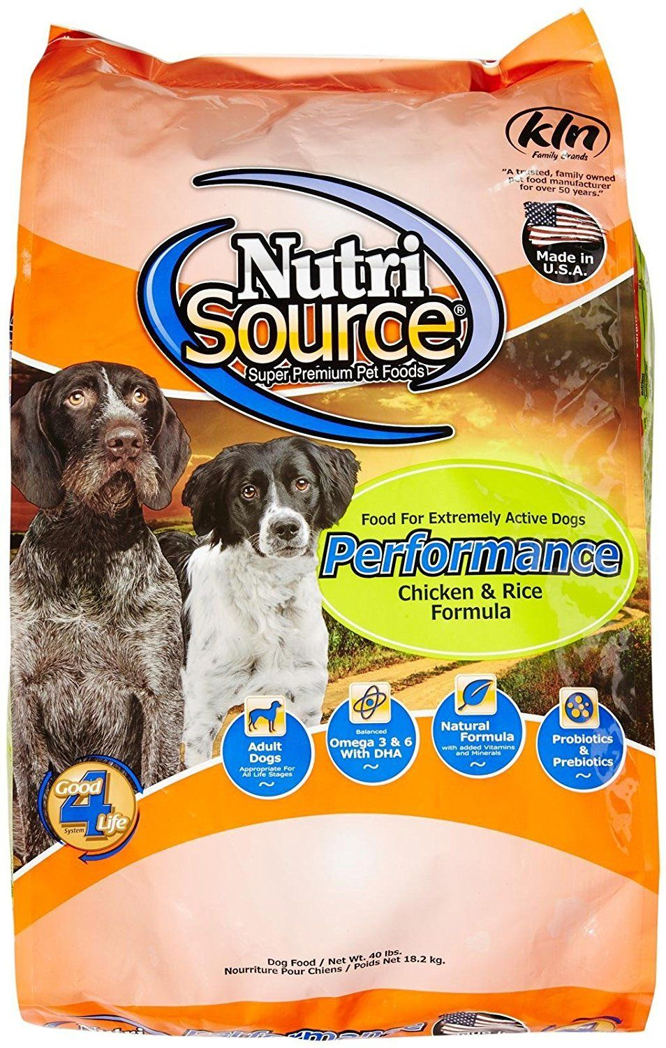 Tuffy's Pet Food 131523 Nutrisource Performance Dry Food