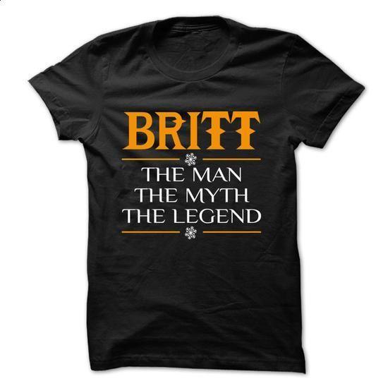 The Legen BRITT... - 0399 Cool Name Shirt ! - #winter hoodie #sweatshirt hoodie. GET YOURS => https://www.sunfrog.com/LifeStyle/The-Legen-BRITT--0399-Cool-Name-Shirt-.html?68278