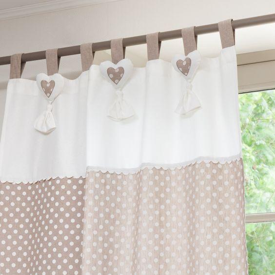 Ideas de cortinas para dormitorios de bebes. | Esperando al Bebe ...
