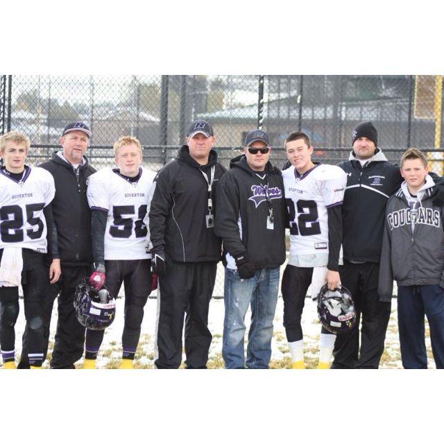 "Our jr A team & ""the bromance"" love them miss them"