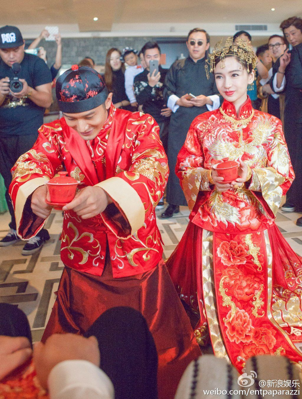 Angelababy's Wedding of the Year // Angelababy in a ...