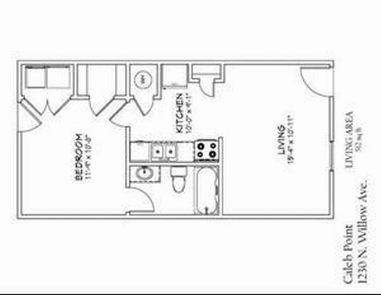 Nice Sketch Of One Bedroom Apartments In Cookeville Tn One Bedroom Apartment Bedroom Apartment One Bedroom