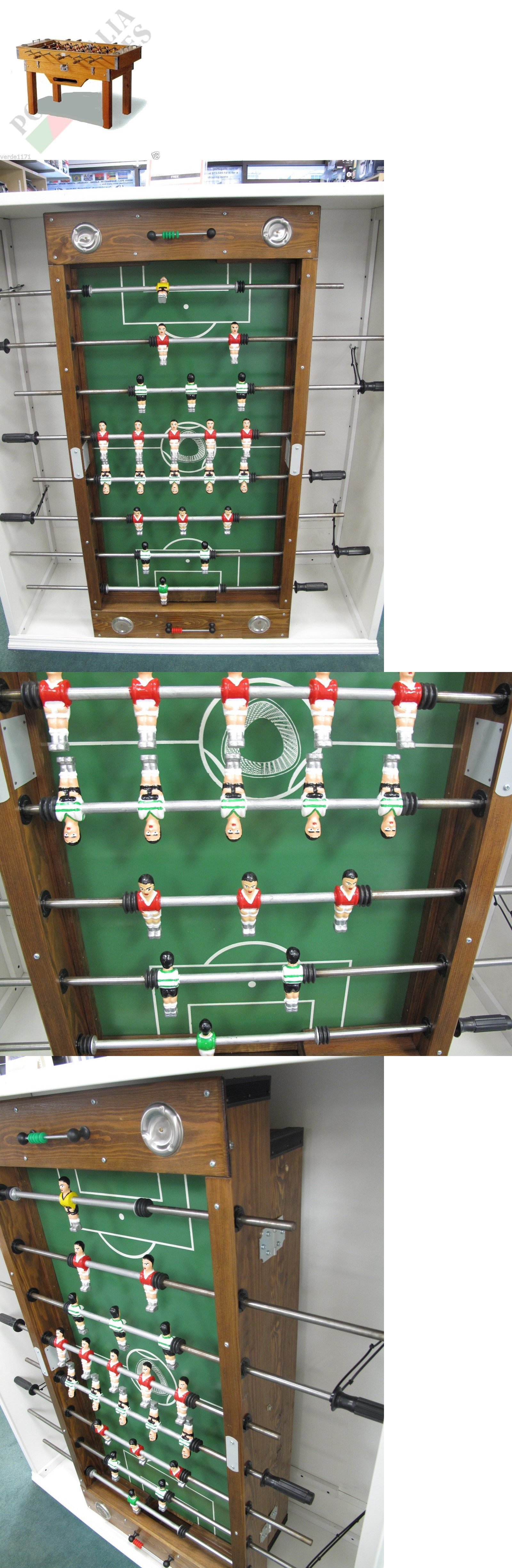 Foosball 36276: Portuguese Commercial Foosball Table Matraquilhos Made In  Portugal Soccer Game BUY IT NOW