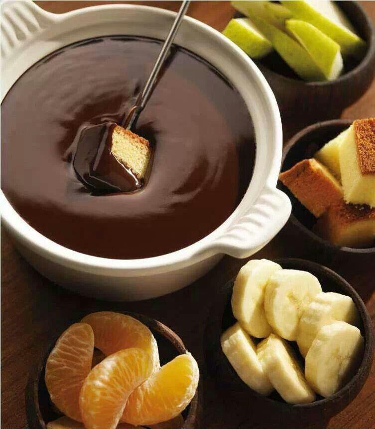 @AliadaDePeter | Chocolate fondue recipe, Melting pot ...