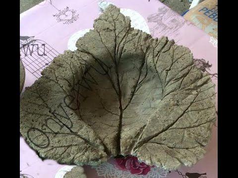 Beton gießen - DIY - Romantische Trittplatten, zauberhafte