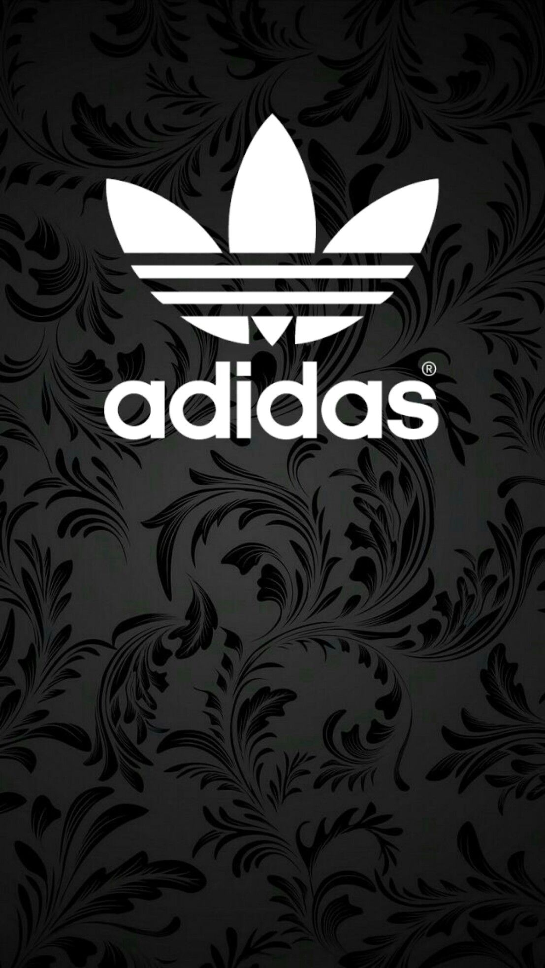 adidas black wallpaper android iphone