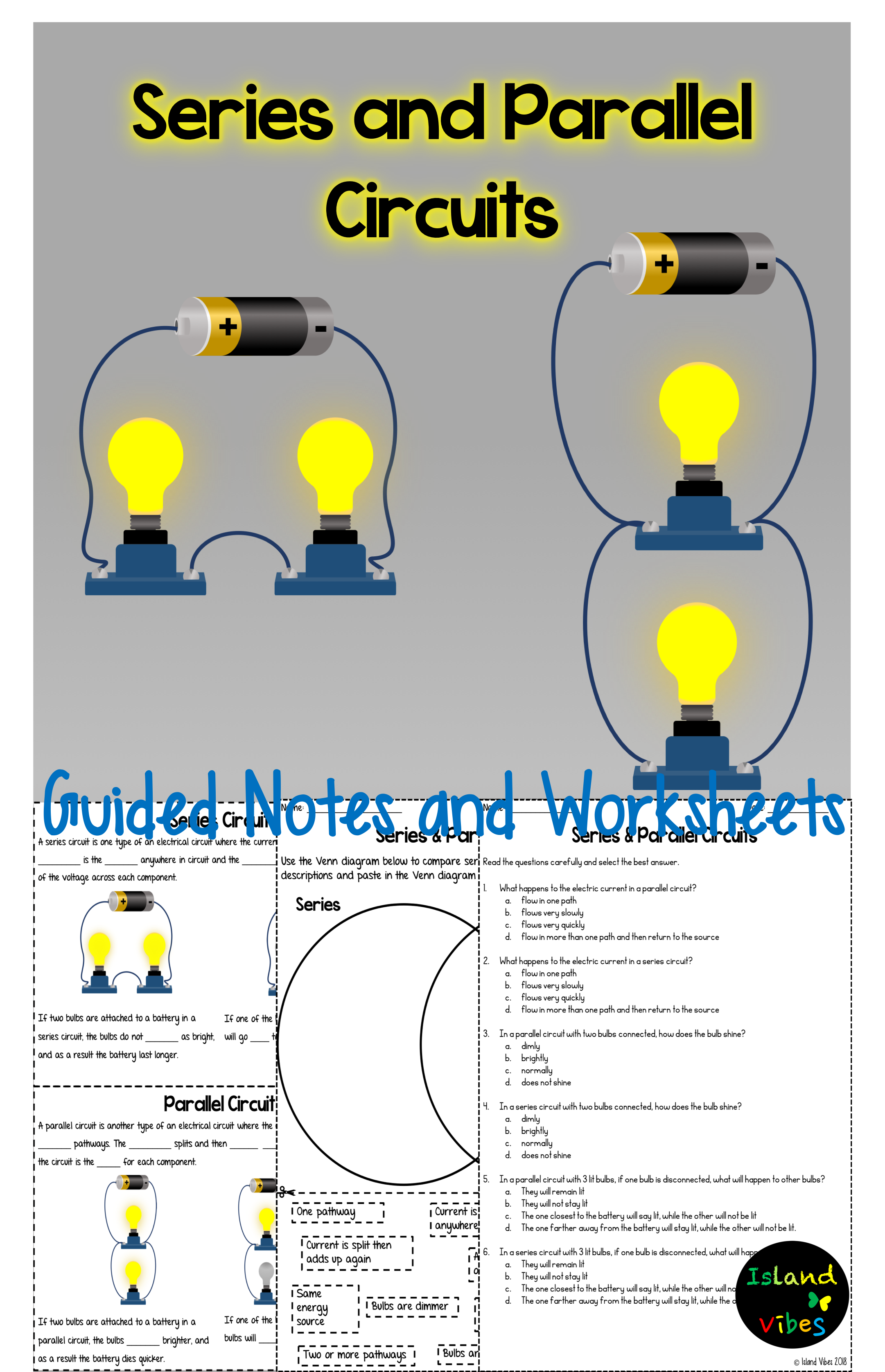 5th Grade Science Circuit Worksheets   Printable Worksheets and Activities  for Teachers [ 3354 x 2162 Pixel ]