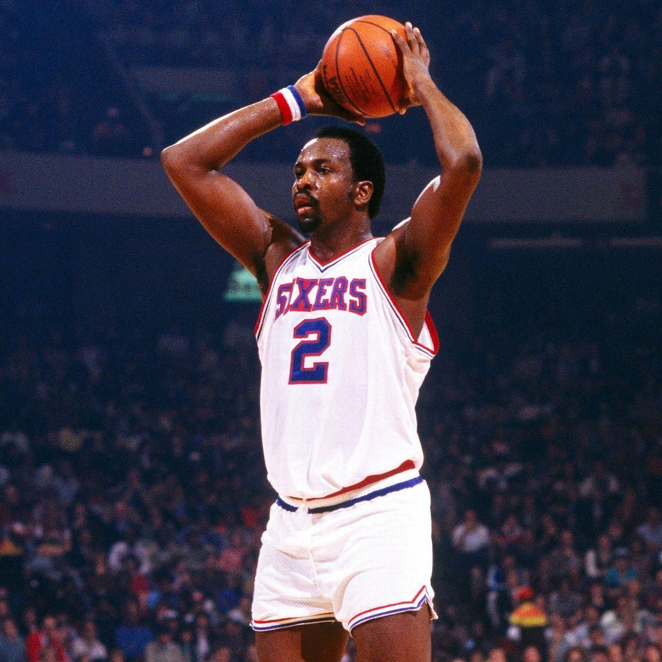 Basketball Legends Y8 Ncaasolutionbasketball Basketballplayers Nba Mvp Moses Malone Basketball Moves
