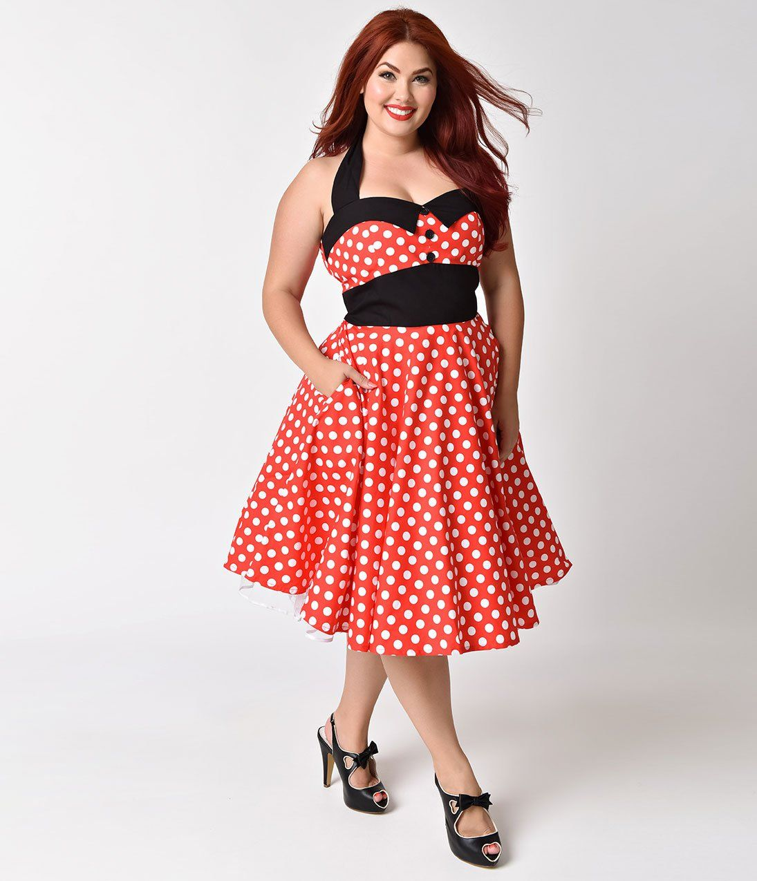 1950s Plus Size Dresses, Clothing | clothes | Plus size vintage ...