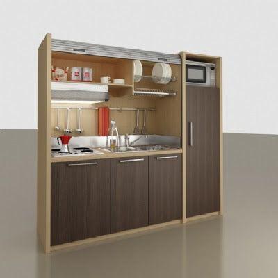 muebles y decoracin de interiores kitchenette o mini cocina para pequeas viviendas
