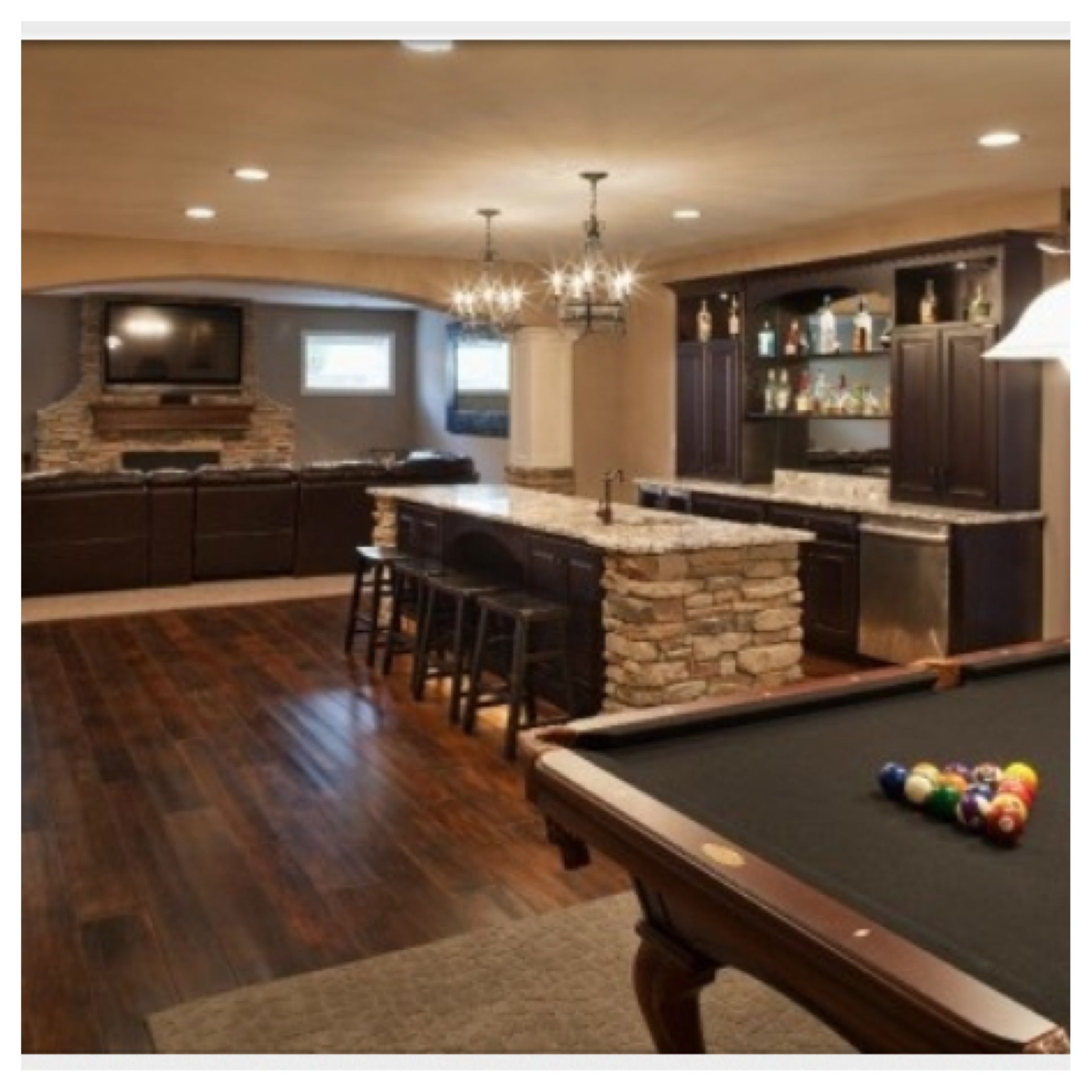 Basement | Dream House | Pinterest