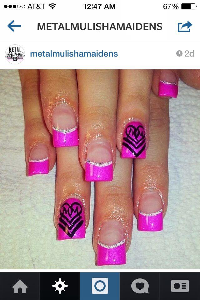Metal mulisha nails | Nail Art Favorites | Pinterest | Metal mulisha ...