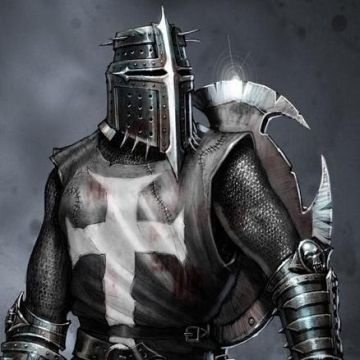 medieval warriors | The ultimate medieval warrior , with a cross on the chest : it's a ...