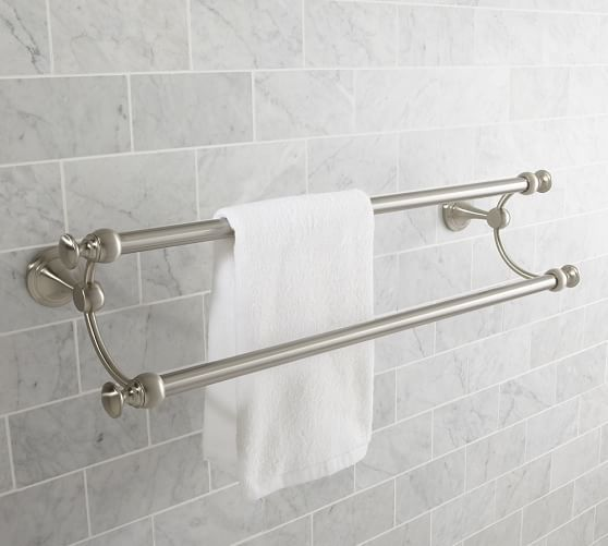 Mercer Double Towel Bar Towel Rack Bathroom Bathroom