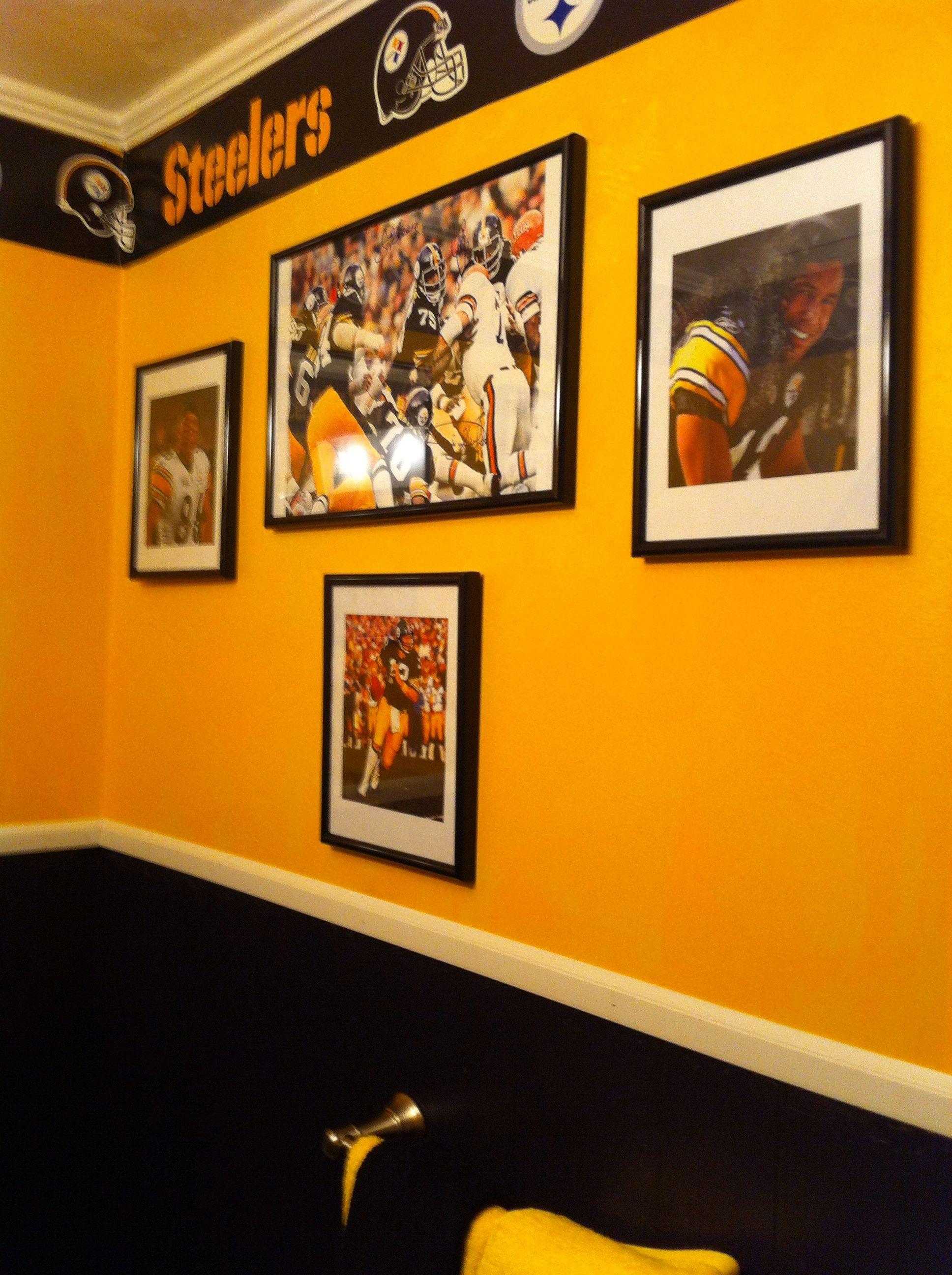 Steelernation Pittsburghsteelers Steelers Bathroom Motif