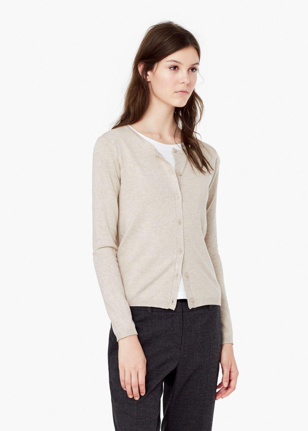 el precio más bajo 87e24 3583e Cárdigan básico - Mujer | Must have! | Sweaters, Cardigans ...