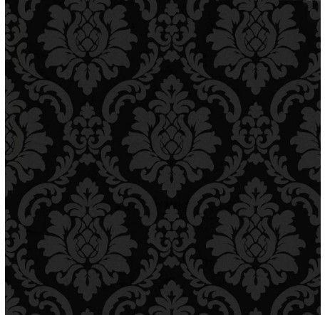 Papier Peint Baroque Noir Maison Papiers Peints Peinture En 2018