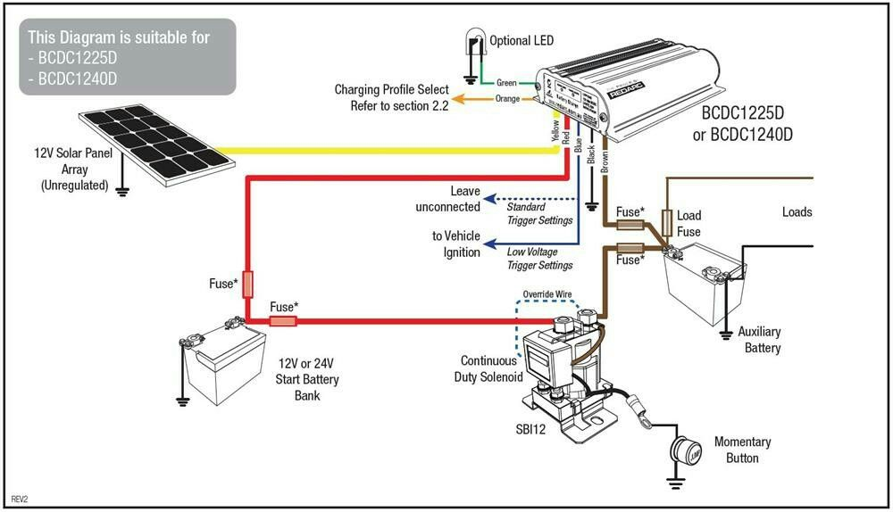 wiring diagram for dual batteries  | 650 x 372