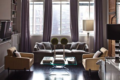 Jessica Stam S Apartment New York Homes Topiaries Condo Living Rooms