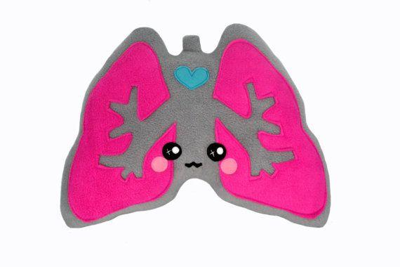 Lungs plushee / pillow / cushion / comfort pillow kawaii novelty ...