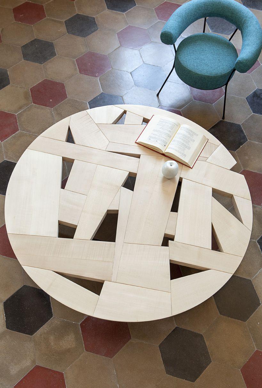 Marco zanuso jr tamiso tavoli console e centrotavola in for Ufficio stampa design