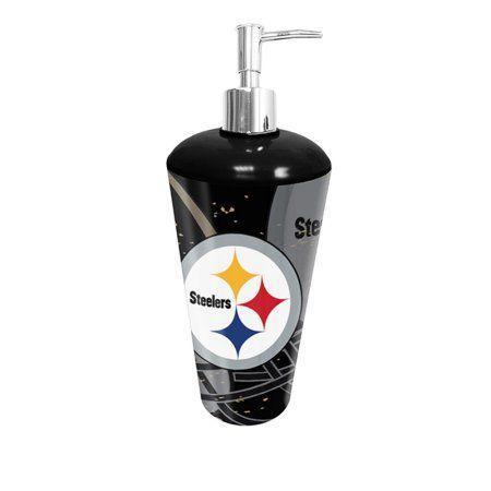 Bathroom Accessories Steelers Pittsburgh Nfl Pump Dispenser Ter