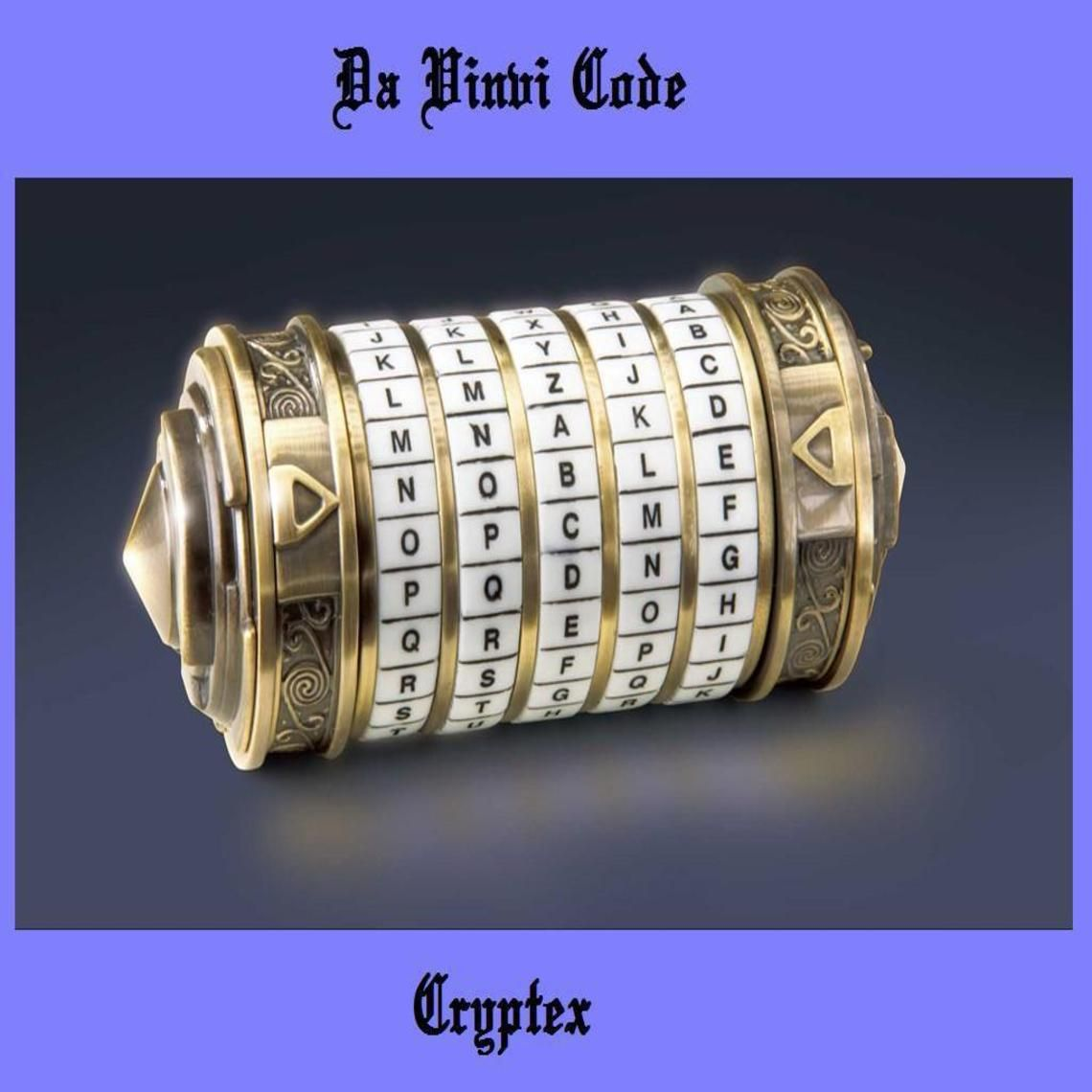 da vinci code cryptex da vinci code cryptex