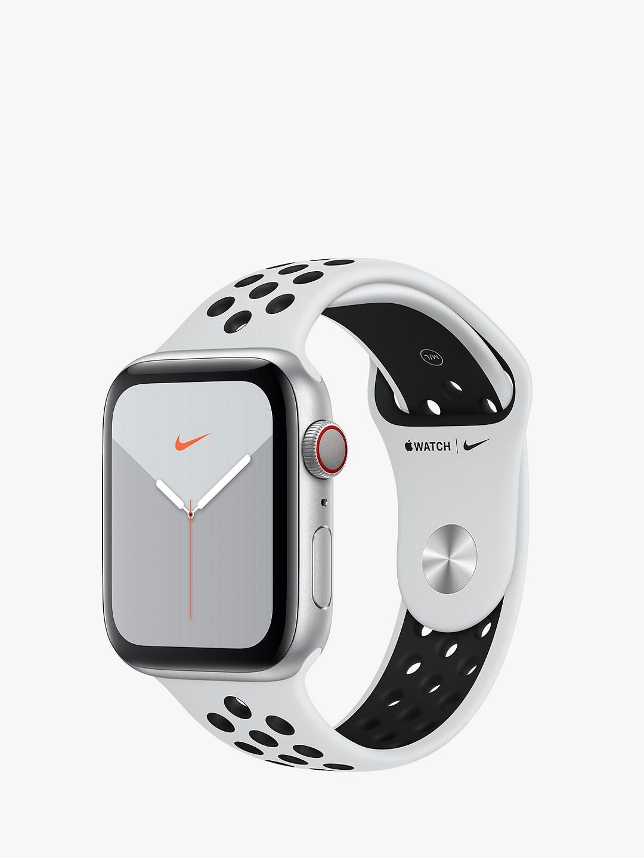 Apple Watch Nike Series 5 GPS + Cellular, 44mm Silver
