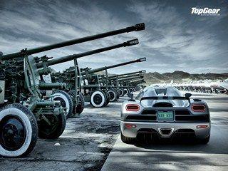 Top Gear Koenigsegg Agera Artillery HD Wallpaper