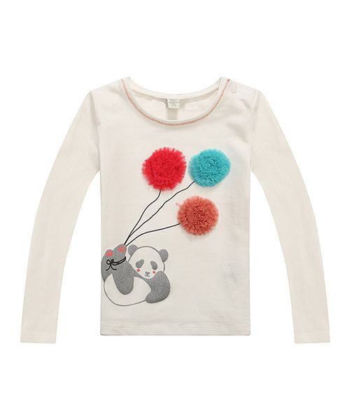 Look at this White Playful Panda Tee - Infant