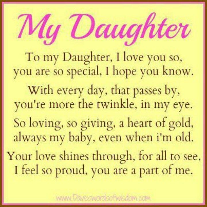 To My Daughter Quotes From Daddy Google Search Gedichte