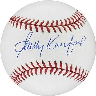 Sandy Koufax Signed Baseball Rawlings Baseball Autographed Baseballs Philadelphia Phillies