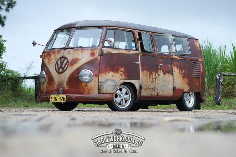 1954 Vw Kombi Rust With Images Vintage Vw Bus Vintage Vw