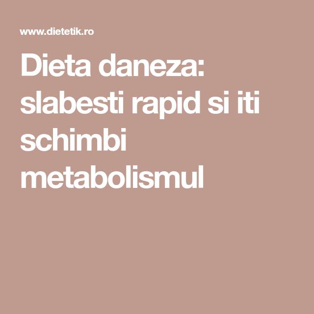 Dieta de 13 zile de schimbare a metabolismului forum Mangosteen pulbere în România